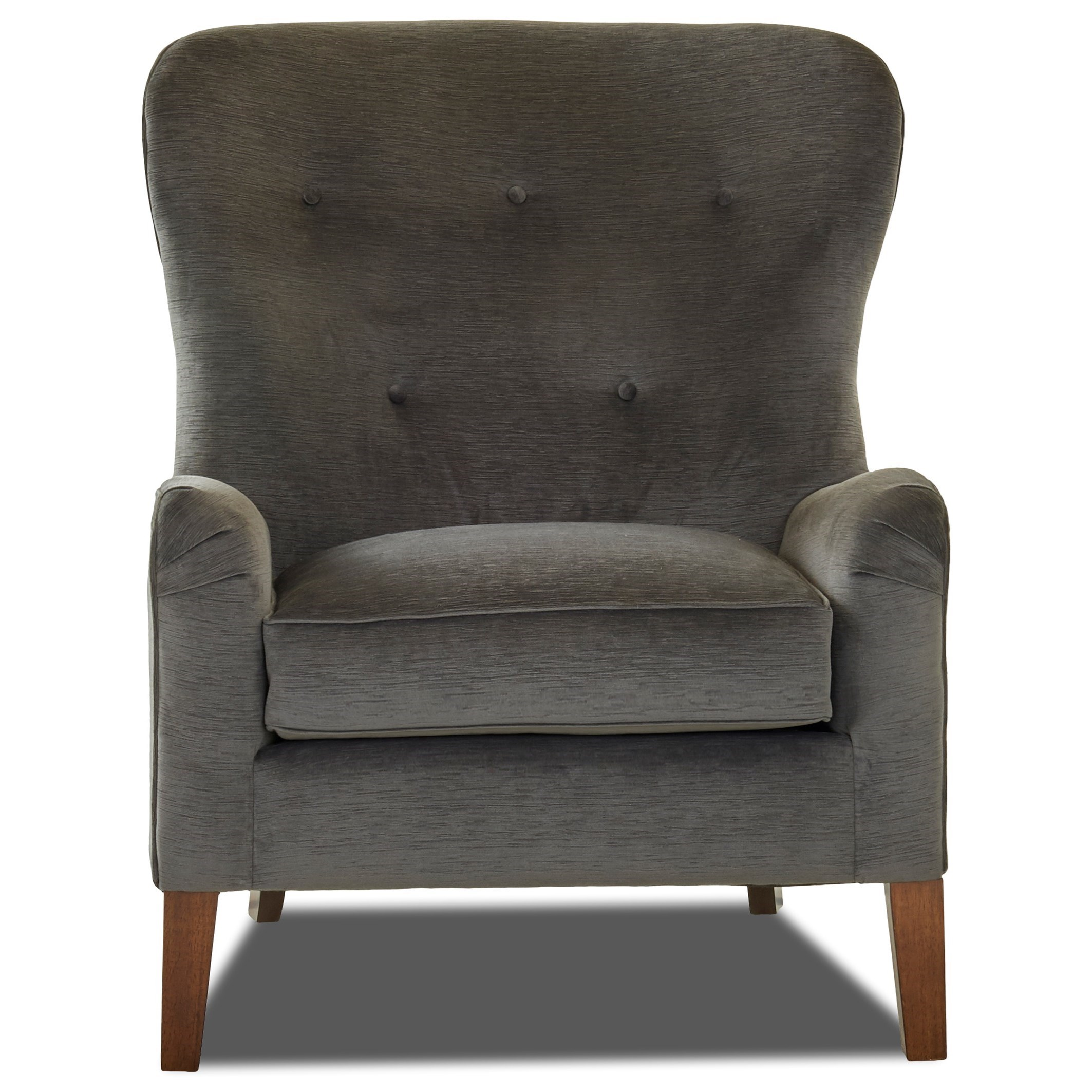 Chairs and Accents Annabel Chair by Klaussner at Johnny Janosik
