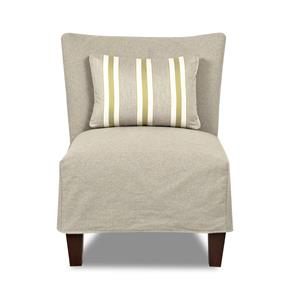 Klaussner Chairs and Accents Armless Chair