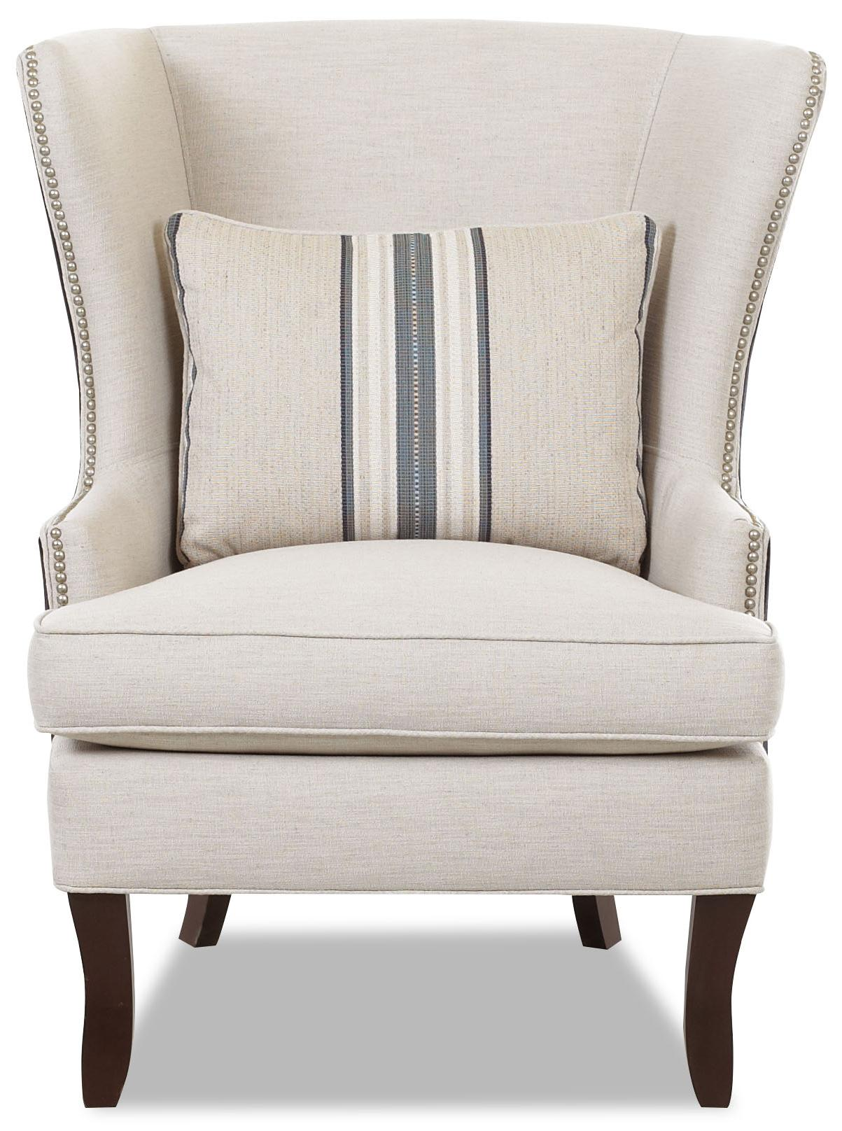 Chairs and Accents Krauss Accent Chair by Klaussner at Johnny Janosik