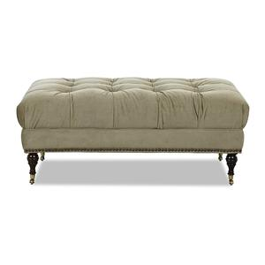 Klaussner Chairs and Accents Hilda Accent Ottoman