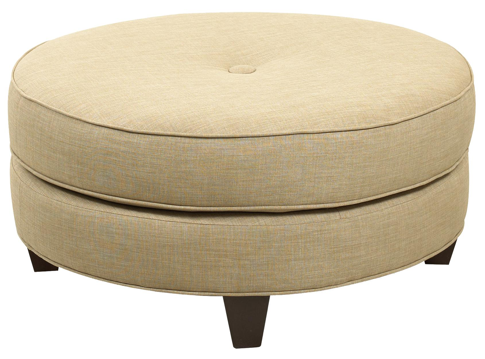 Chairs and Accents Pippa Ottoman by Klaussner at H.L. Stephens
