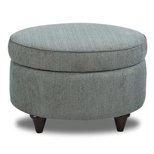 Klaussner Chairs and Accents Orion Storage Accent Ottoman