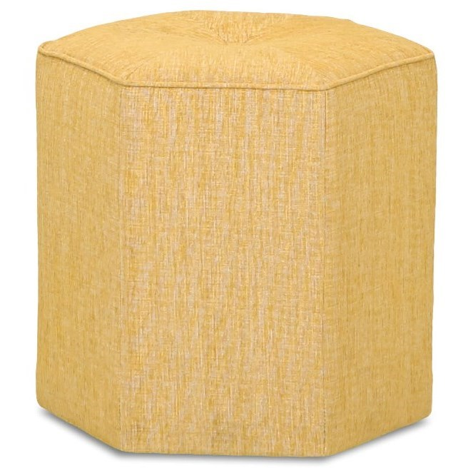 Chairs and Accents Pillar Ottoman by Klaussner at Johnny Janosik