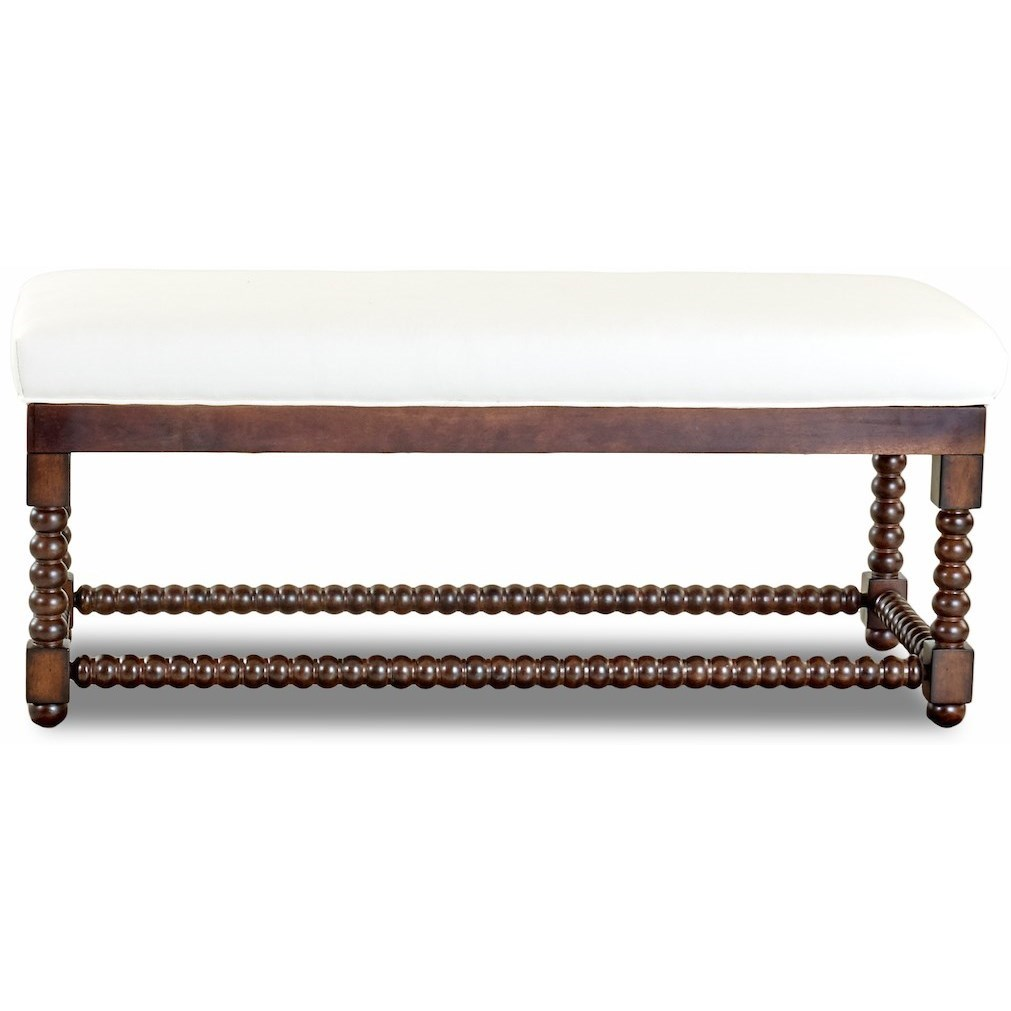 Chairs and Accents Rocco Bench by Klaussner at Godby Home Furnishings