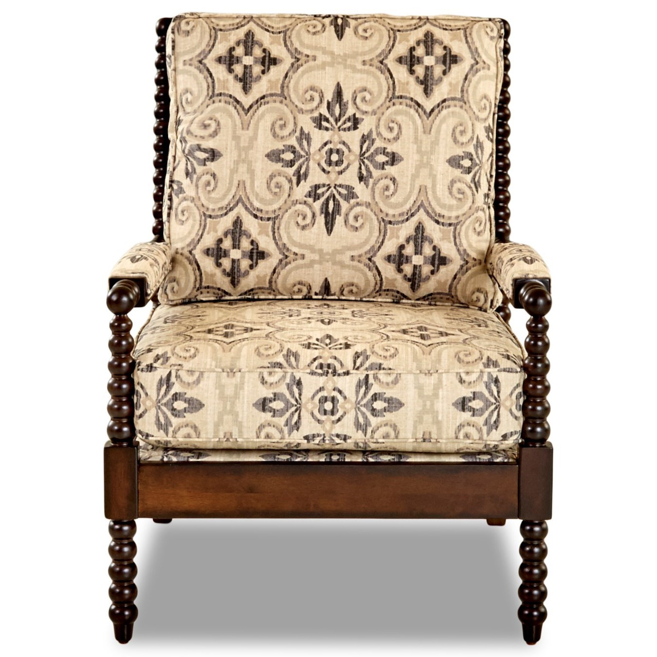Chairs and Accents Rocco Accent Chair by Klaussner at Northeast Factory Direct