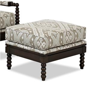 Klaussner Chairs and Accents Rocco Ottoman