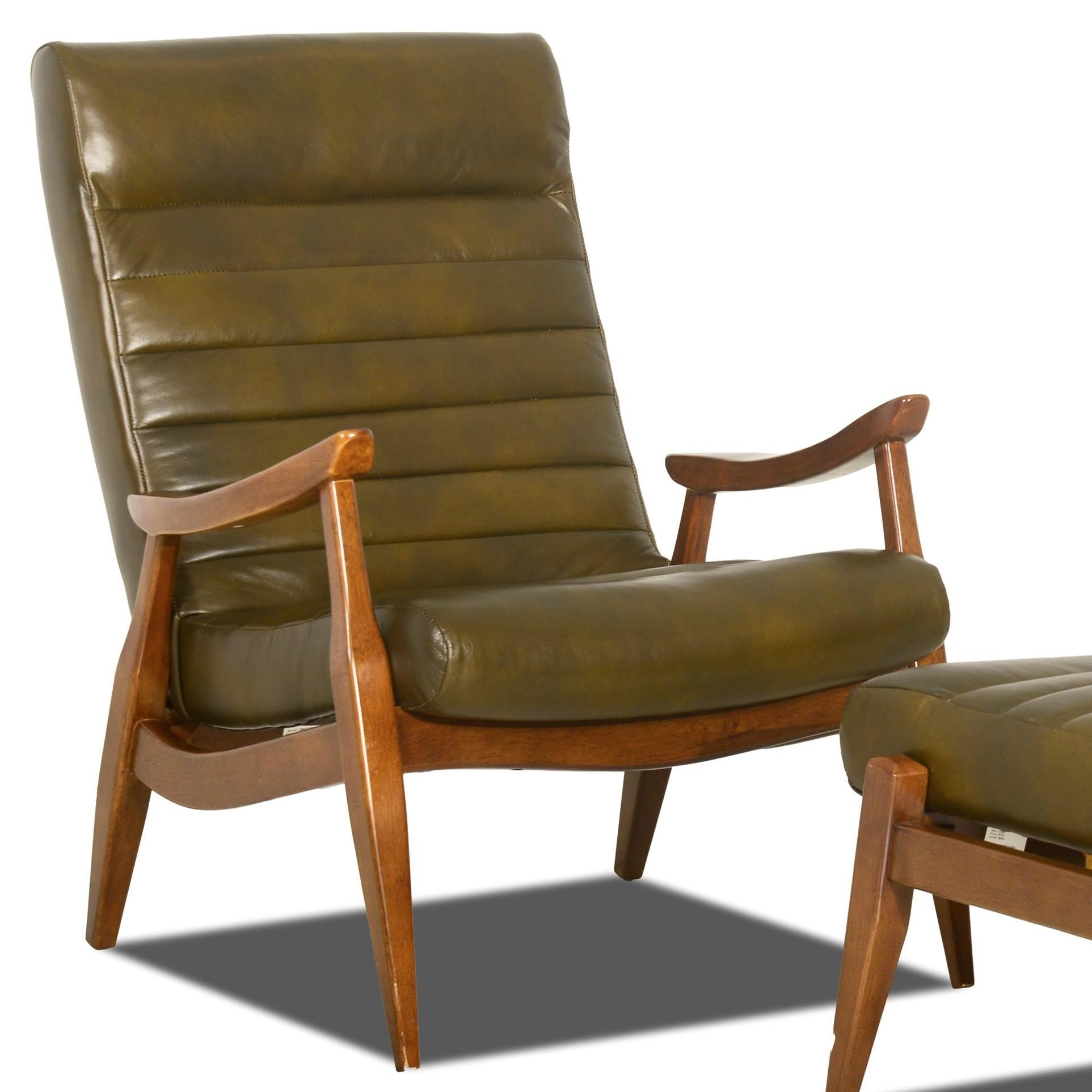 Chairs and Accents Hans Chair by Klaussner at Johnny Janosik