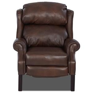 Greenbrier High Leg Reclining Chair