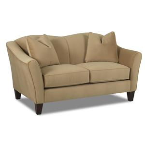 Klaussner Kris Upholstered Stationary Love Seat