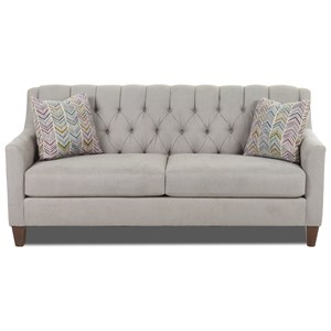 Apartment-Size Tufted Sofa