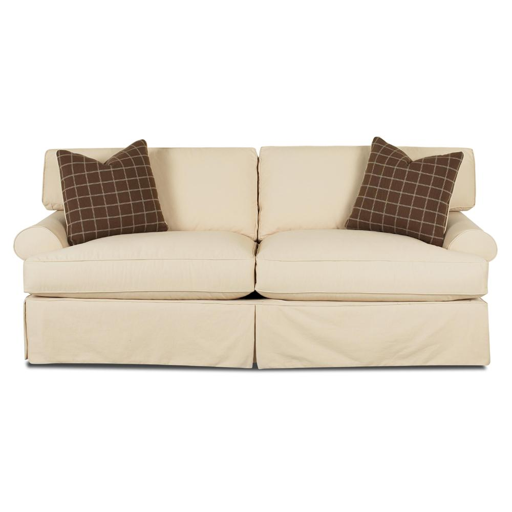 Lahoya Sofa with Blend Down Cushions by Klaussner at Northeast Factory Direct
