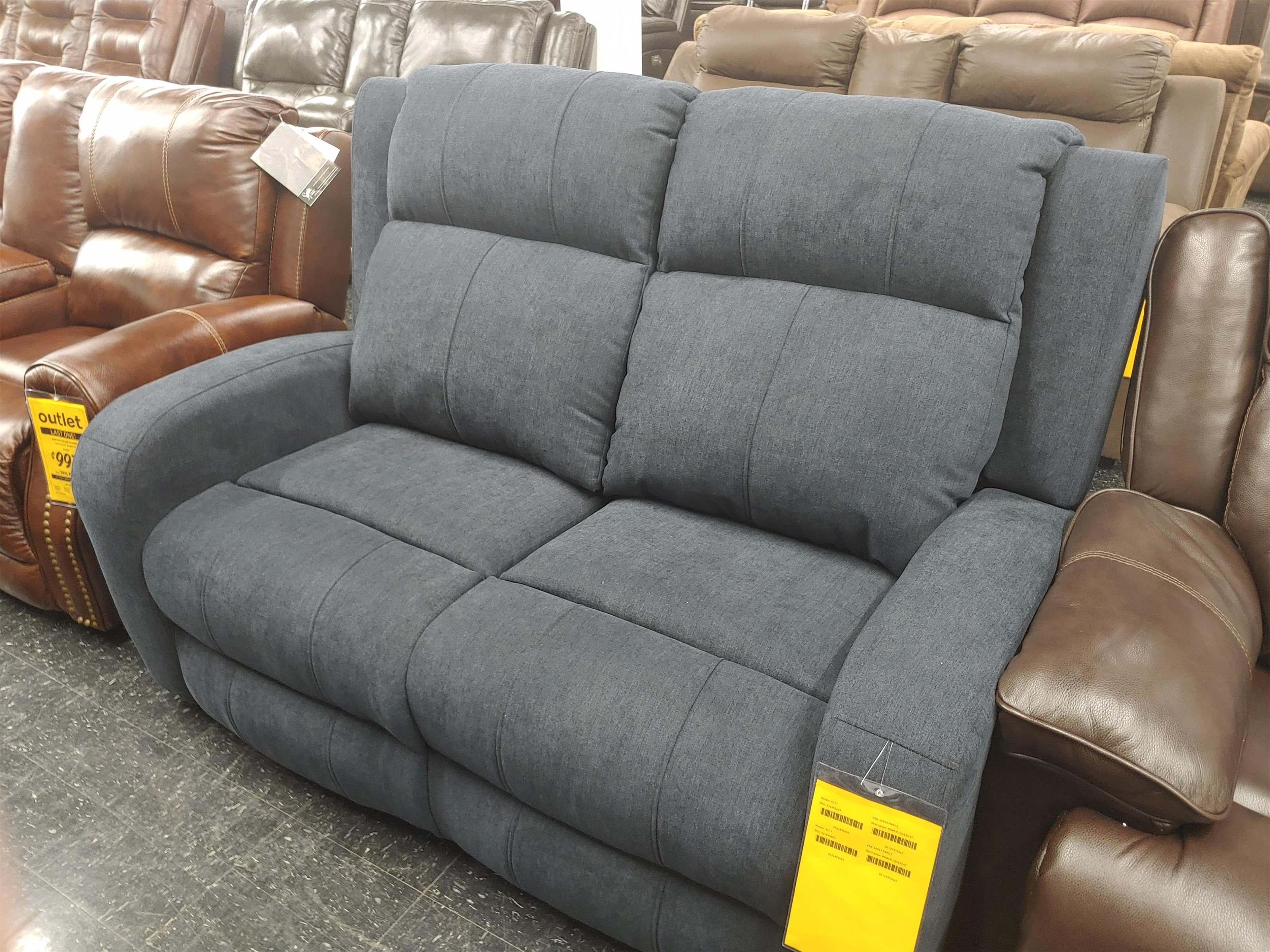 Last One Loveseat Last One! Power Loveseat! by Klaussner at Morris Home