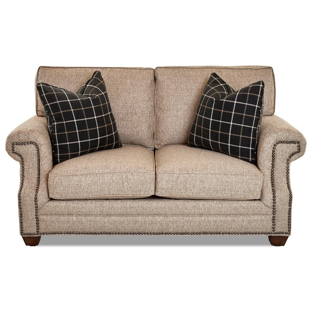 Lawrence Loveseat by Klaussner at Johnny Janosik