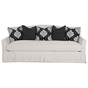 Slipcover Sofa with Bench Seat