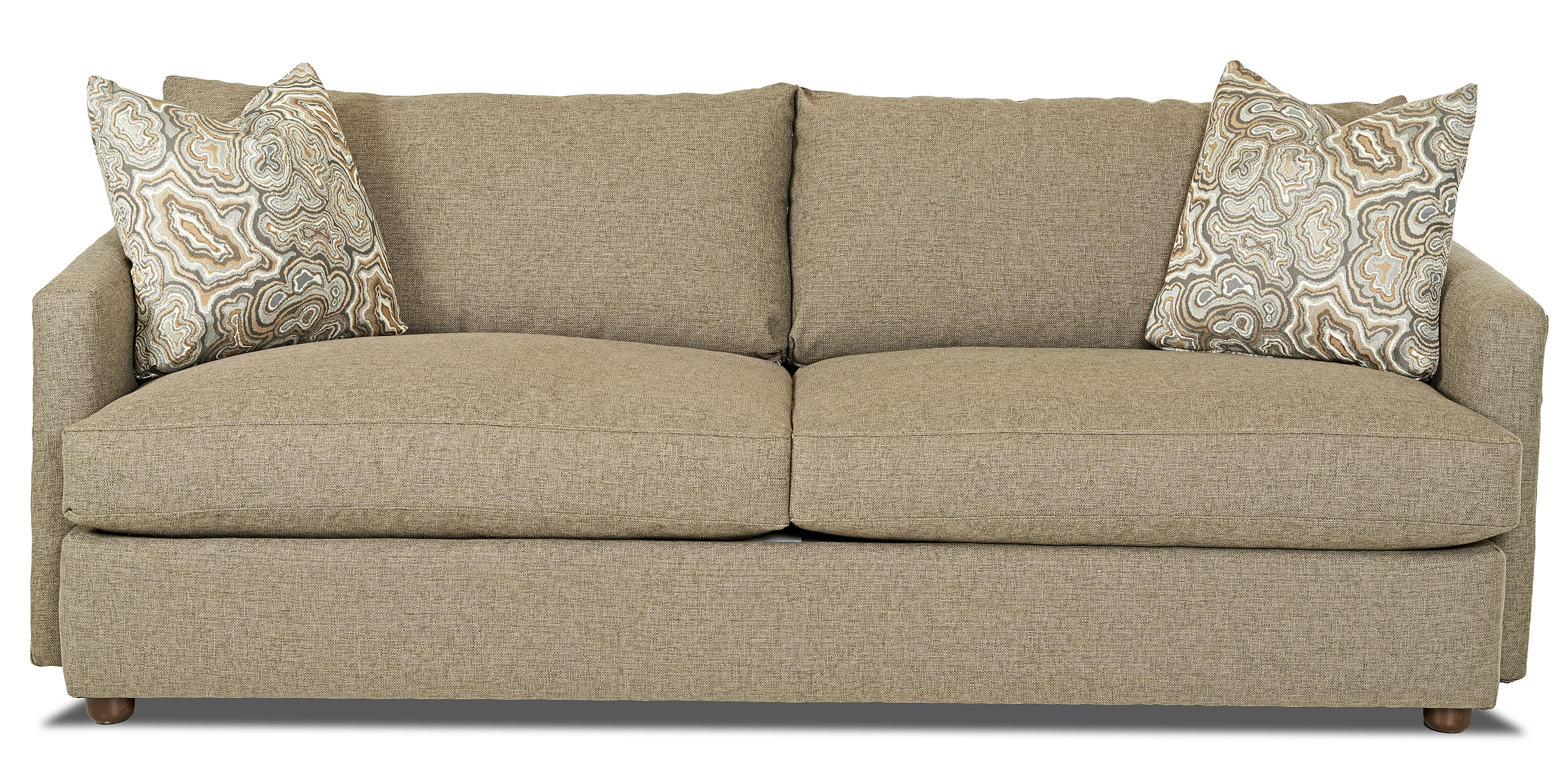 Leisure Extra Large Sofa by Klaussner at Northeast Factory Direct