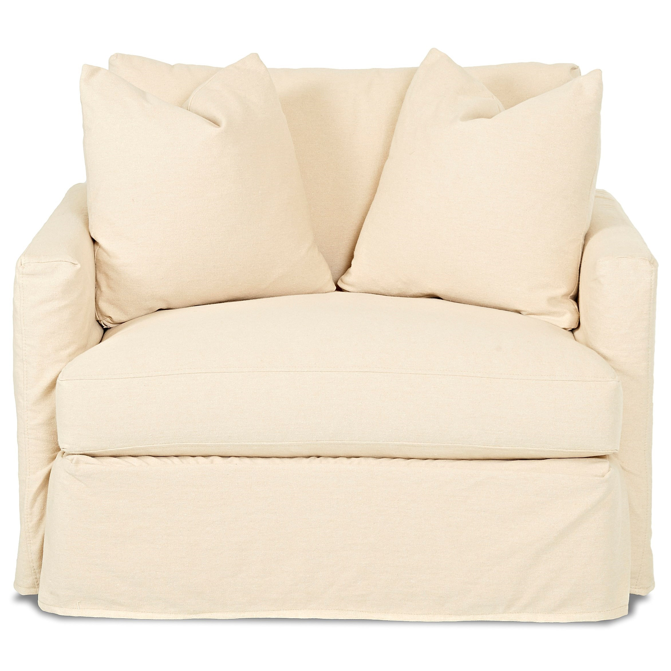Leisure Chair with Slipcover by Klaussner at Northeast Factory Direct