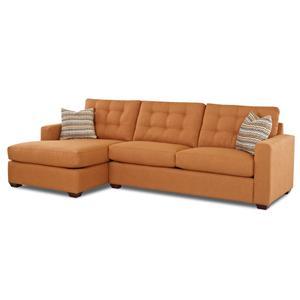 Klaussner Lido  Sectional Sofa