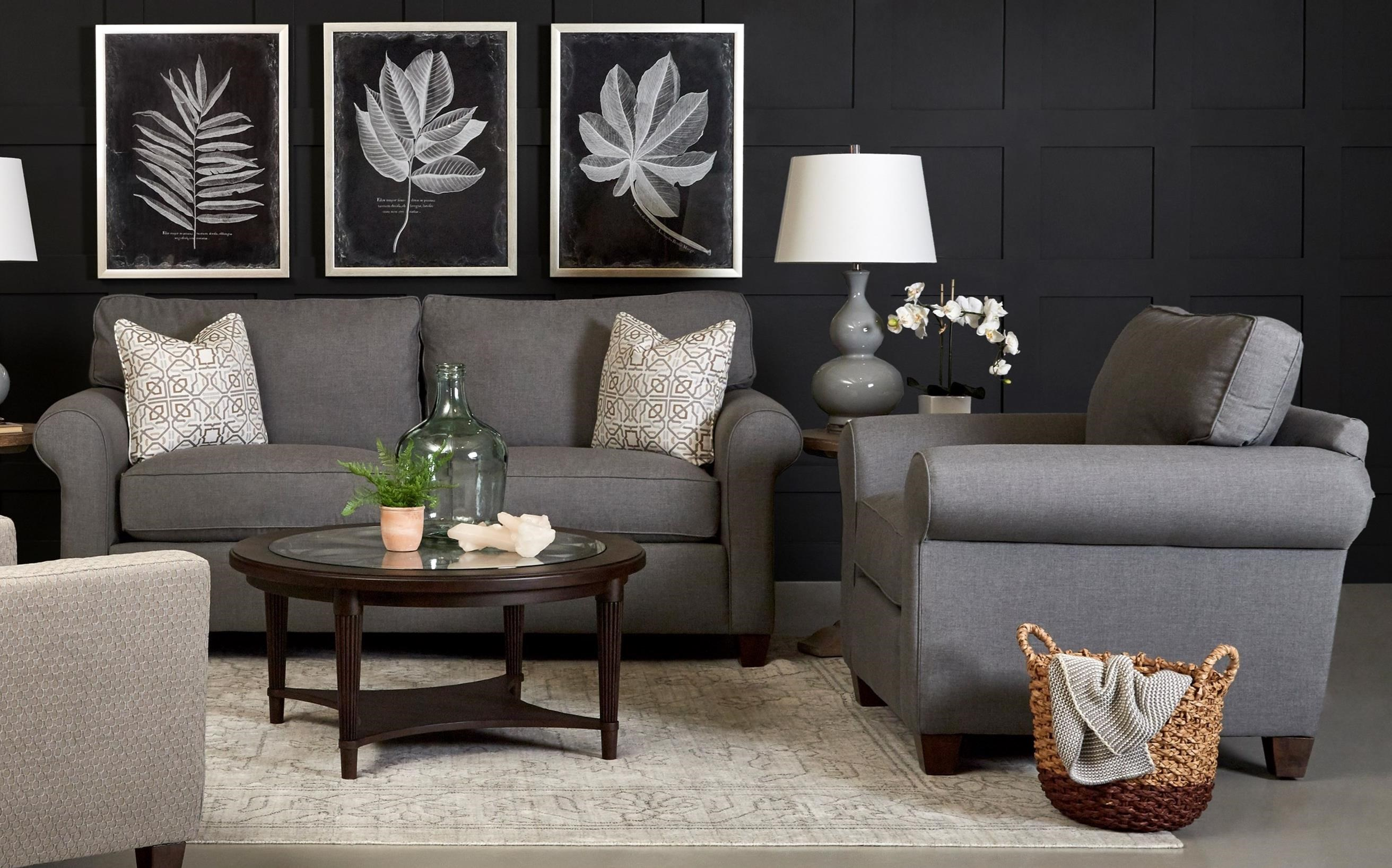 Lillington Distinctions  Stationary Living Room Group by Klaussner at Johnny Janosik