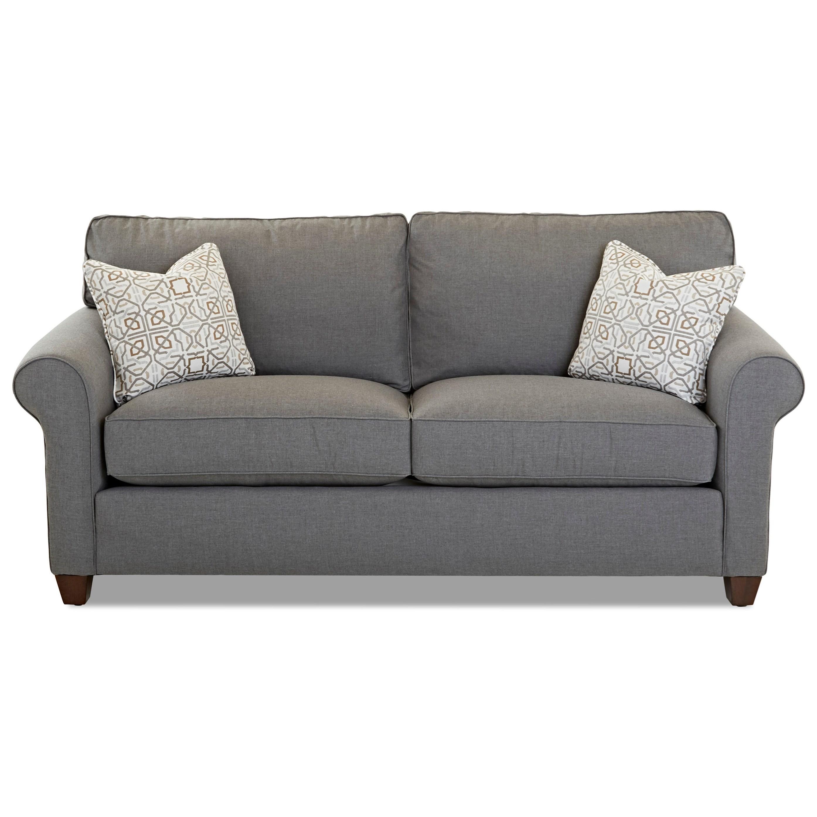 Lillington Distinctions  Stationary Sofa by Klaussner at Johnny Janosik