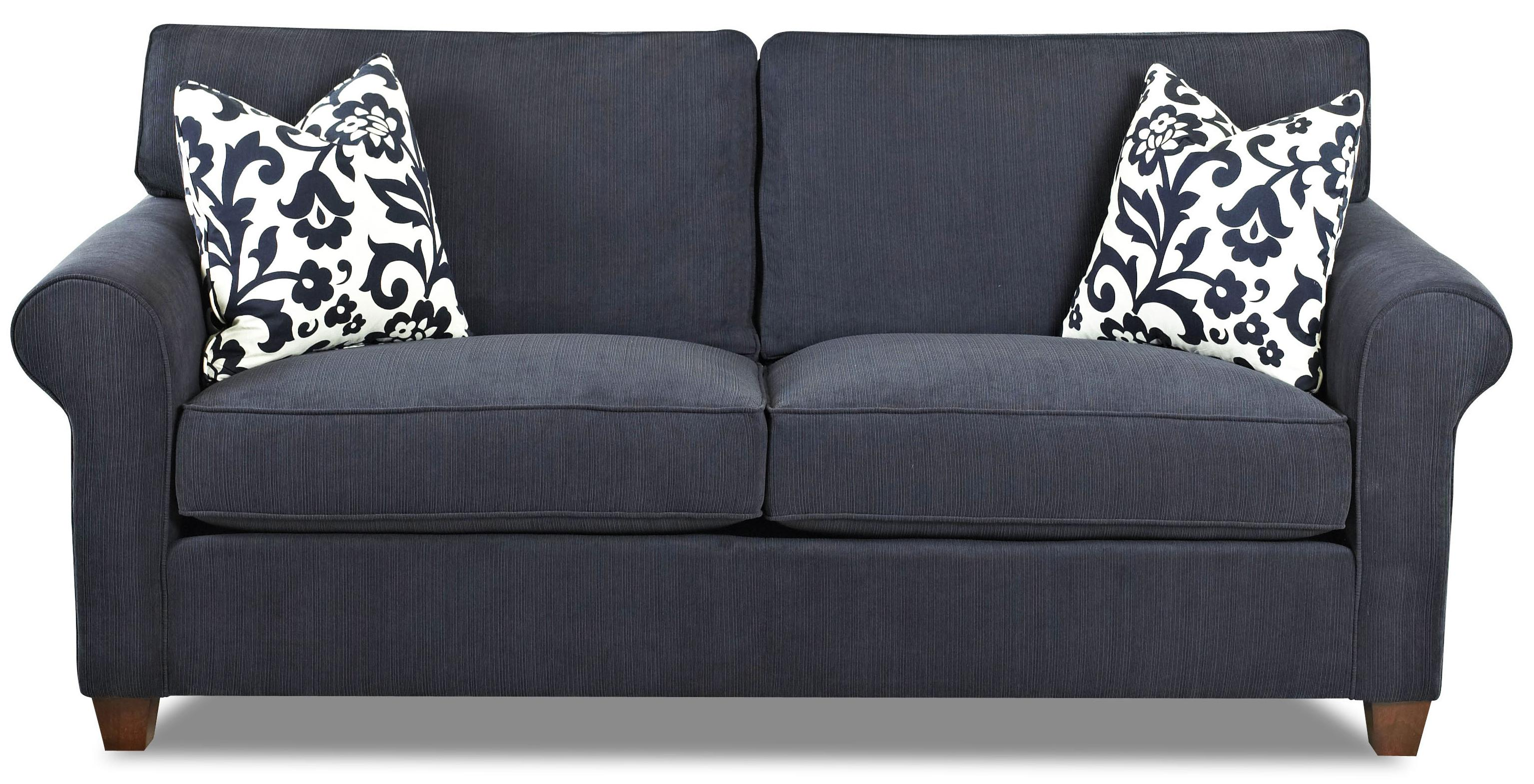Lillington Distinctions  Stationary Sofa by Klaussner at H.L. Stephens