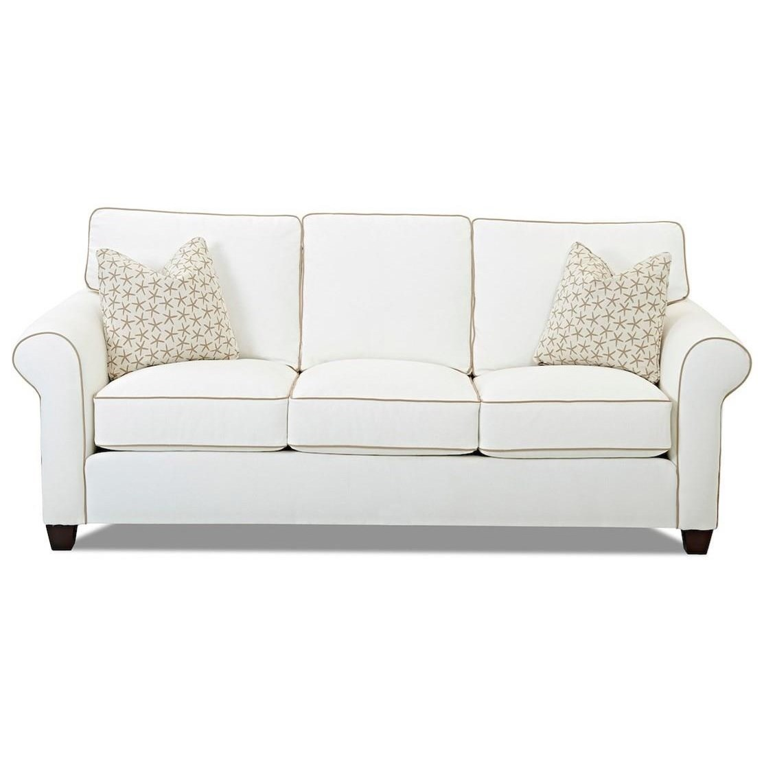 Lillington Extra Large Enso Queen Sleeper Sofa by Klaussner at Catalog Outlet