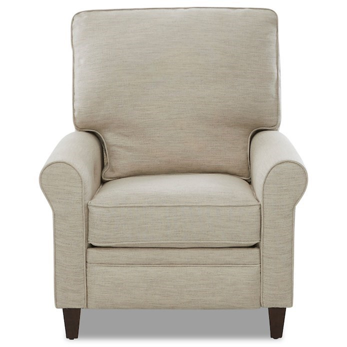 Living Your Way High Leg Reclining Chair by Klaussner at Johnny Janosik