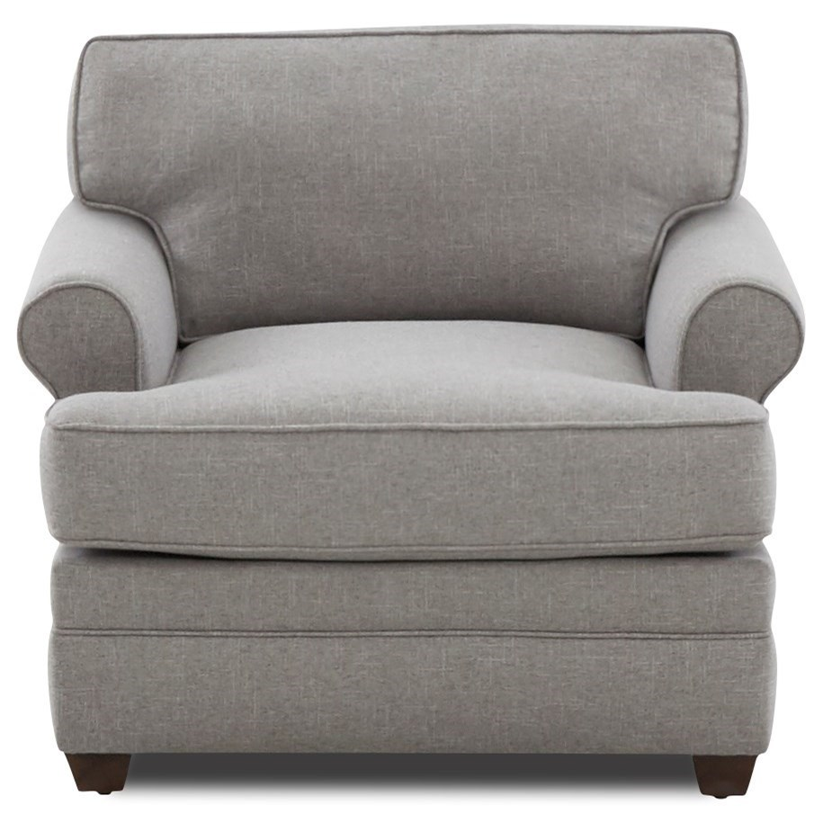 Living Your Way Chair by Klaussner at Catalog Outlet