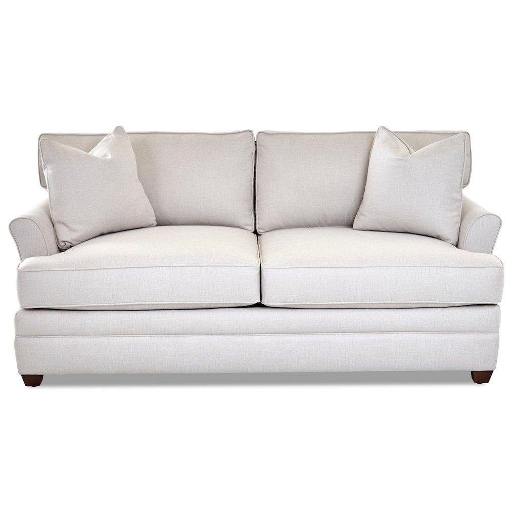 Living Your Way Apartment Sofa by Klaussner at Northeast Factory Direct