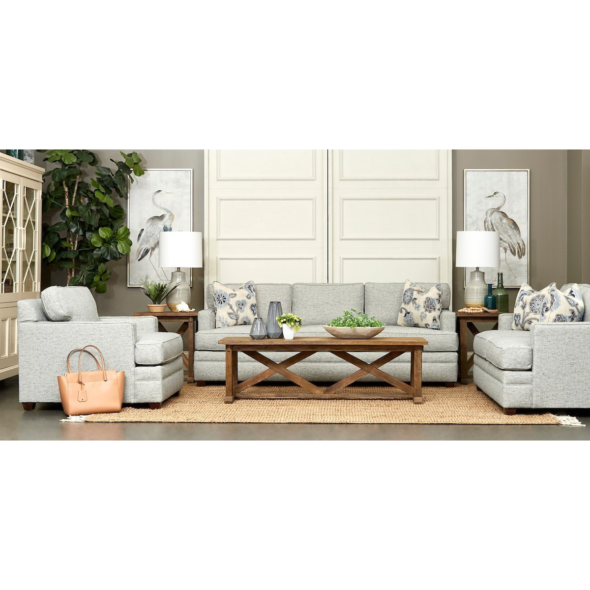 Living Your Way Living Room Group by Klaussner at Van Hill Furniture