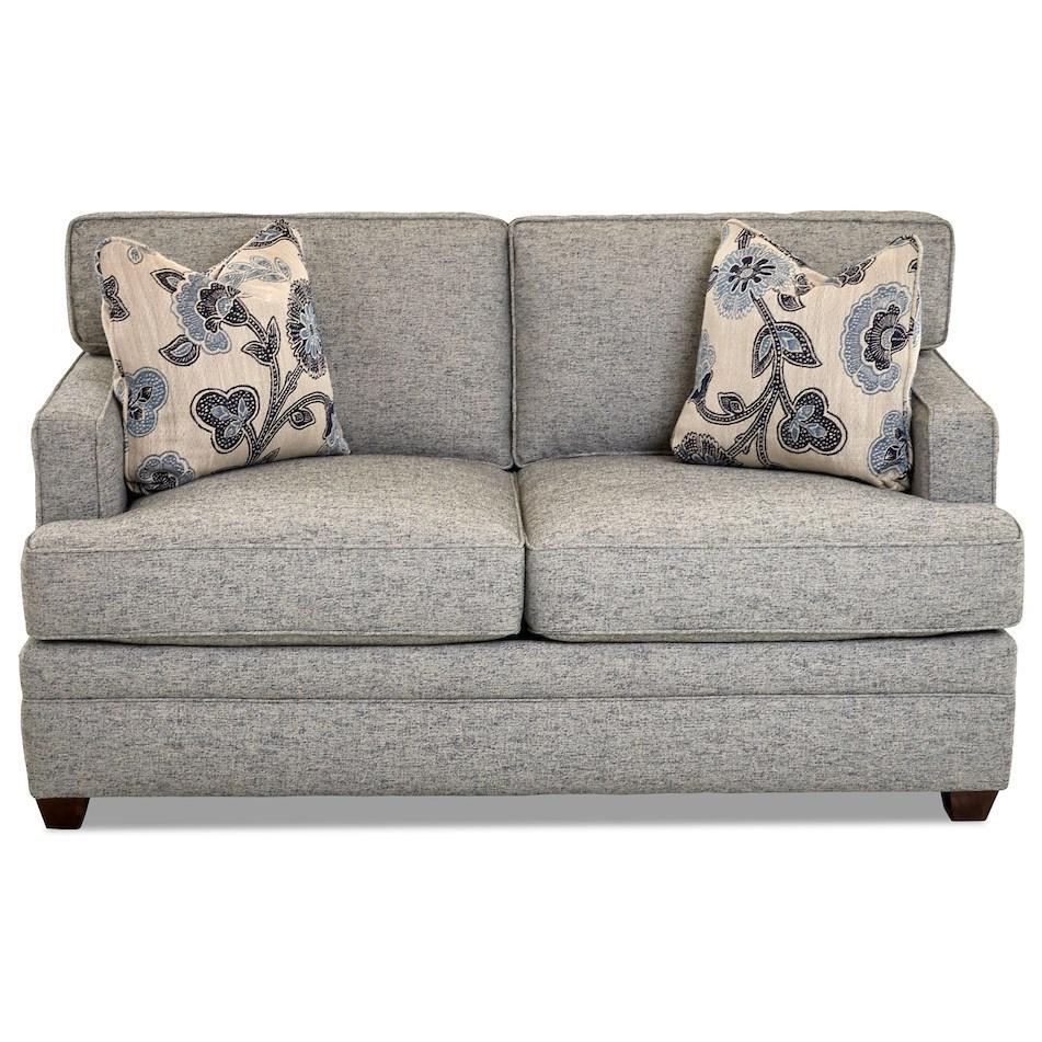 Living Your Way Loveseat by Klaussner at Johnny Janosik