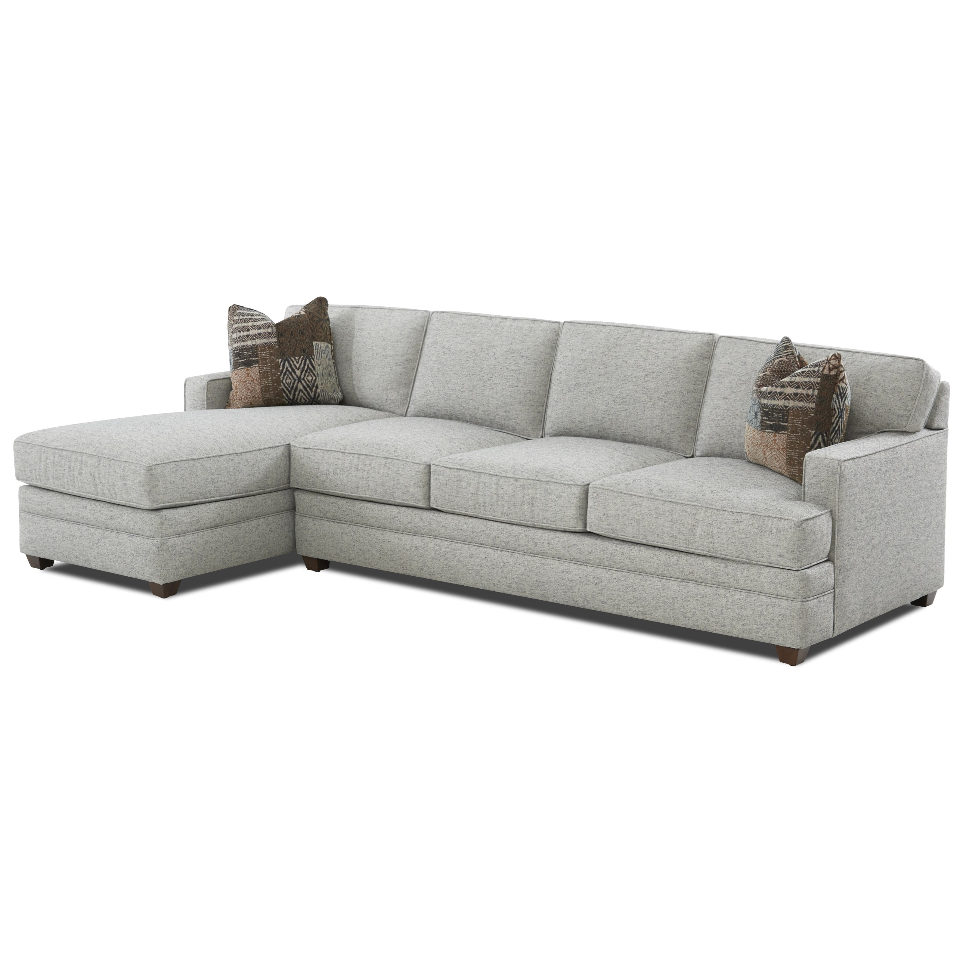 Living Your Way 2-Piece Sectional by Klaussner at Catalog Outlet