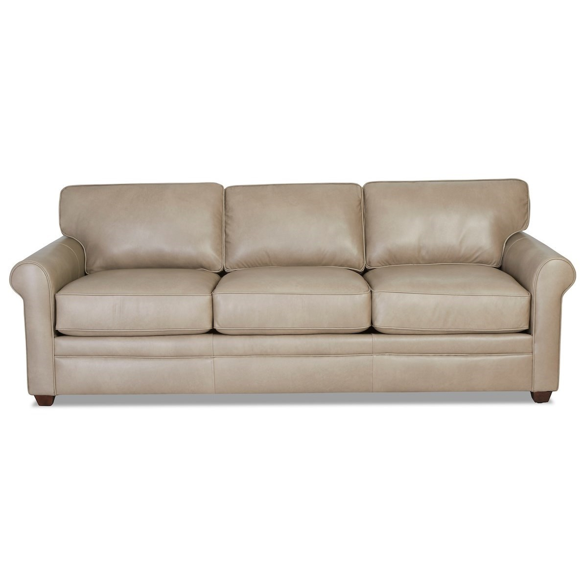 Living Your Way Leather Sofa by Klaussner at Northeast Factory Direct