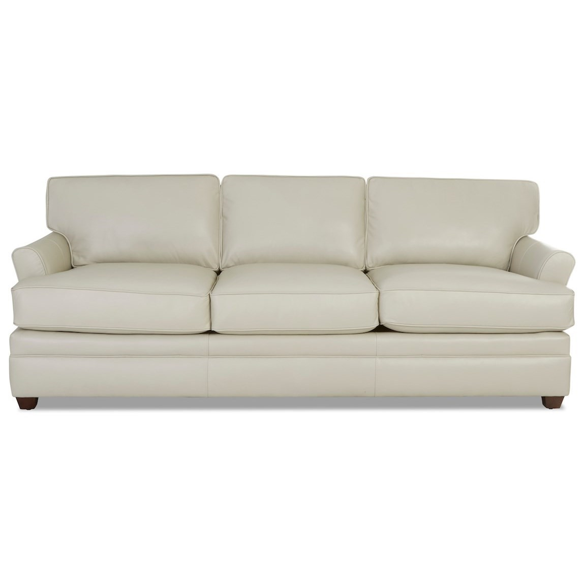 Living Your Way Leather Sofa by Klaussner at Johnny Janosik
