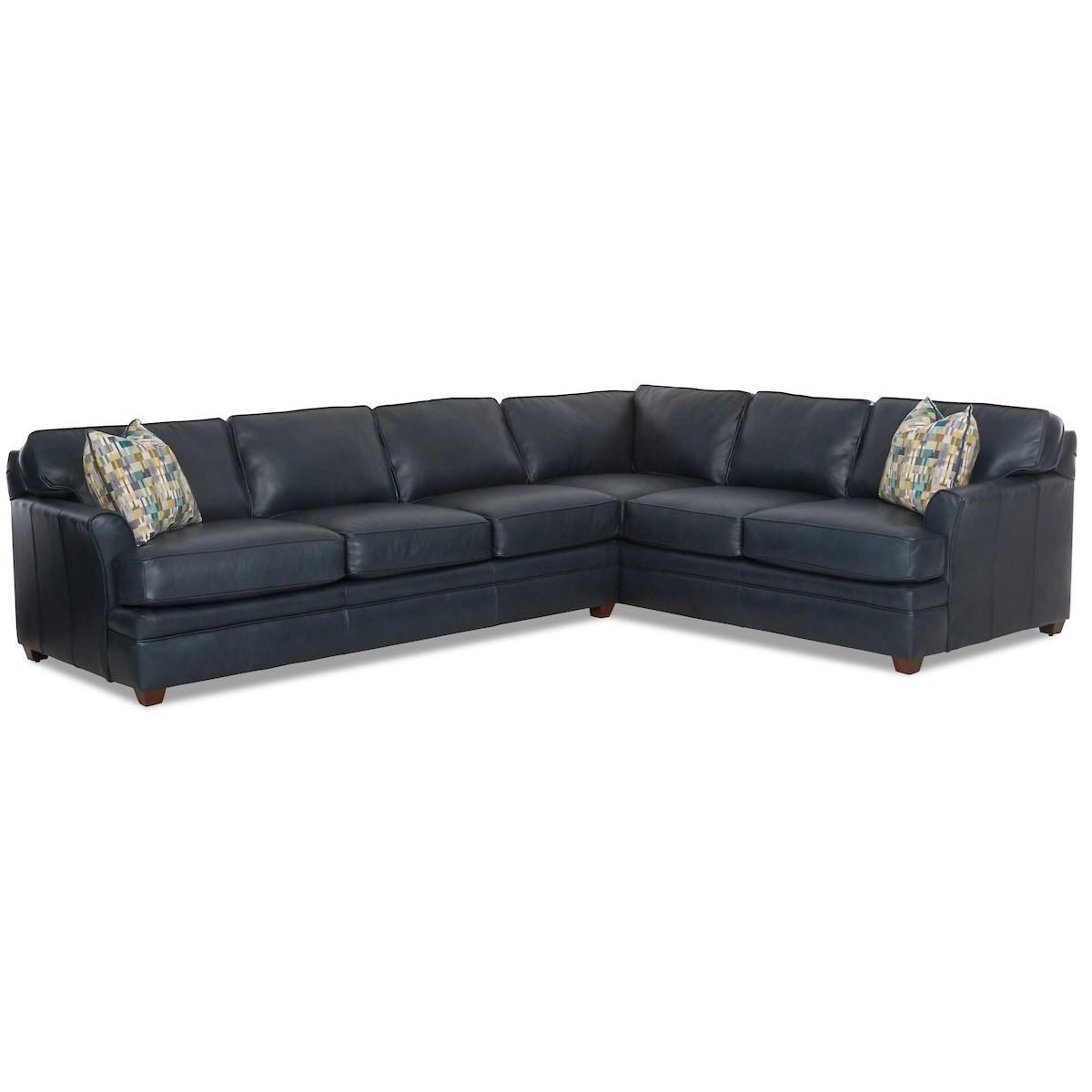 Living Your Way 2-Piece Sectional by Klaussner at Northeast Factory Direct