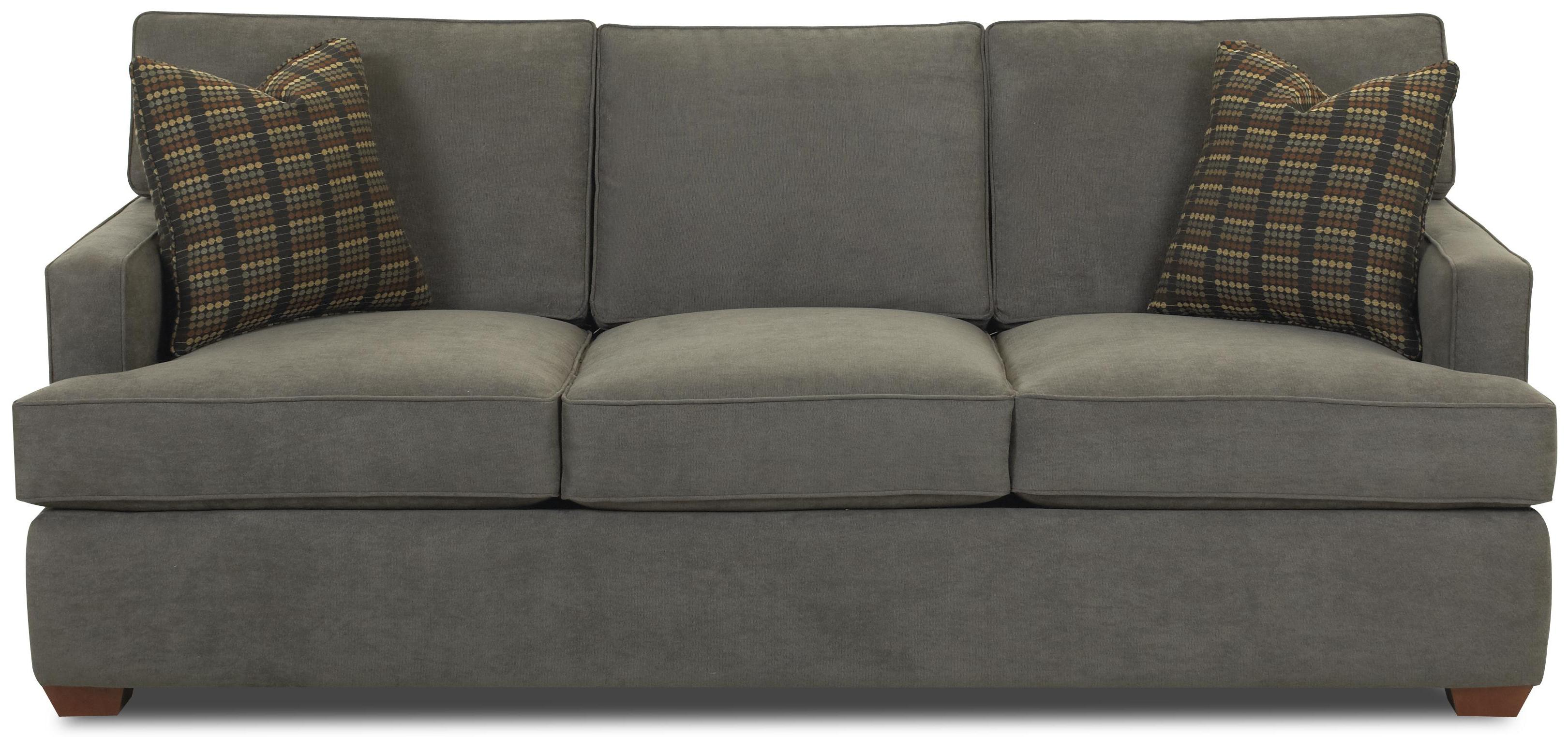 Loomis Innerspring Queen Sofa Sleeper by Klaussner at Van Hill Furniture