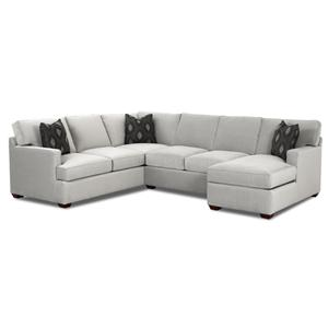 Klaussner Loomis Sectional Sofa Group with Chaise