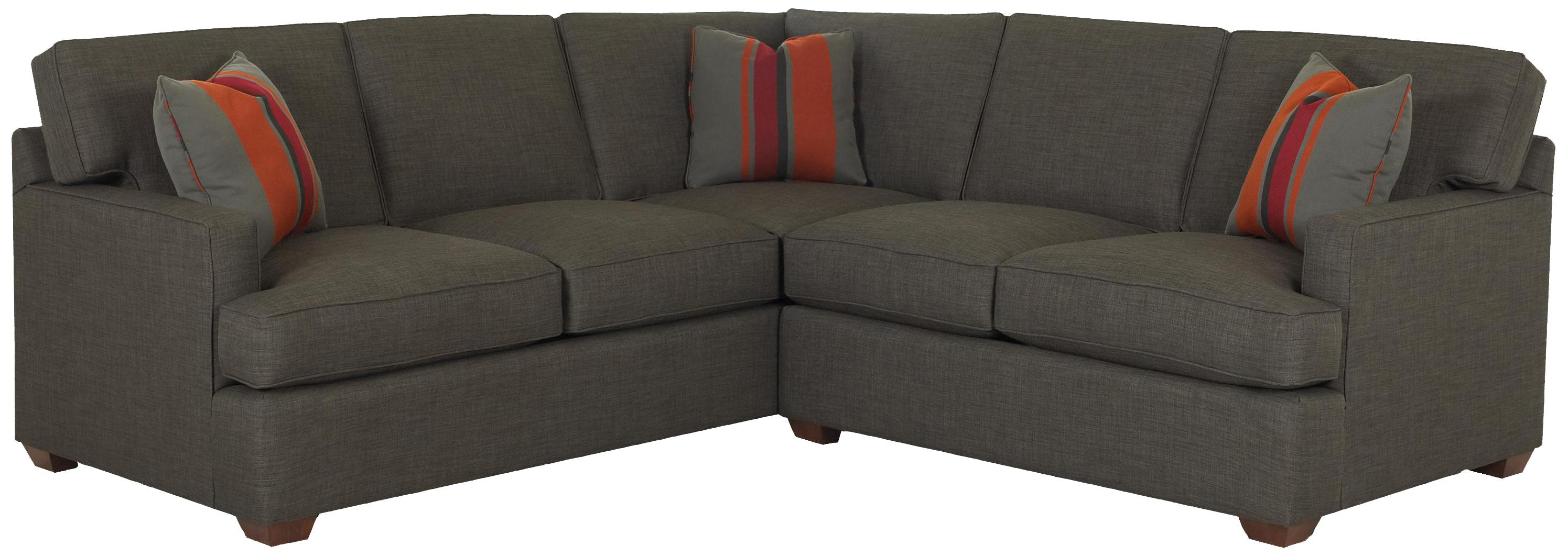 Loomis 2 Piece Sectional by Klaussner at Johnny Janosik
