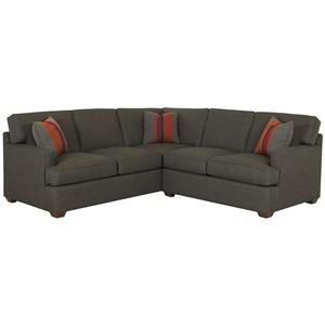 Klaussner Loomis 2 Piece Sectional