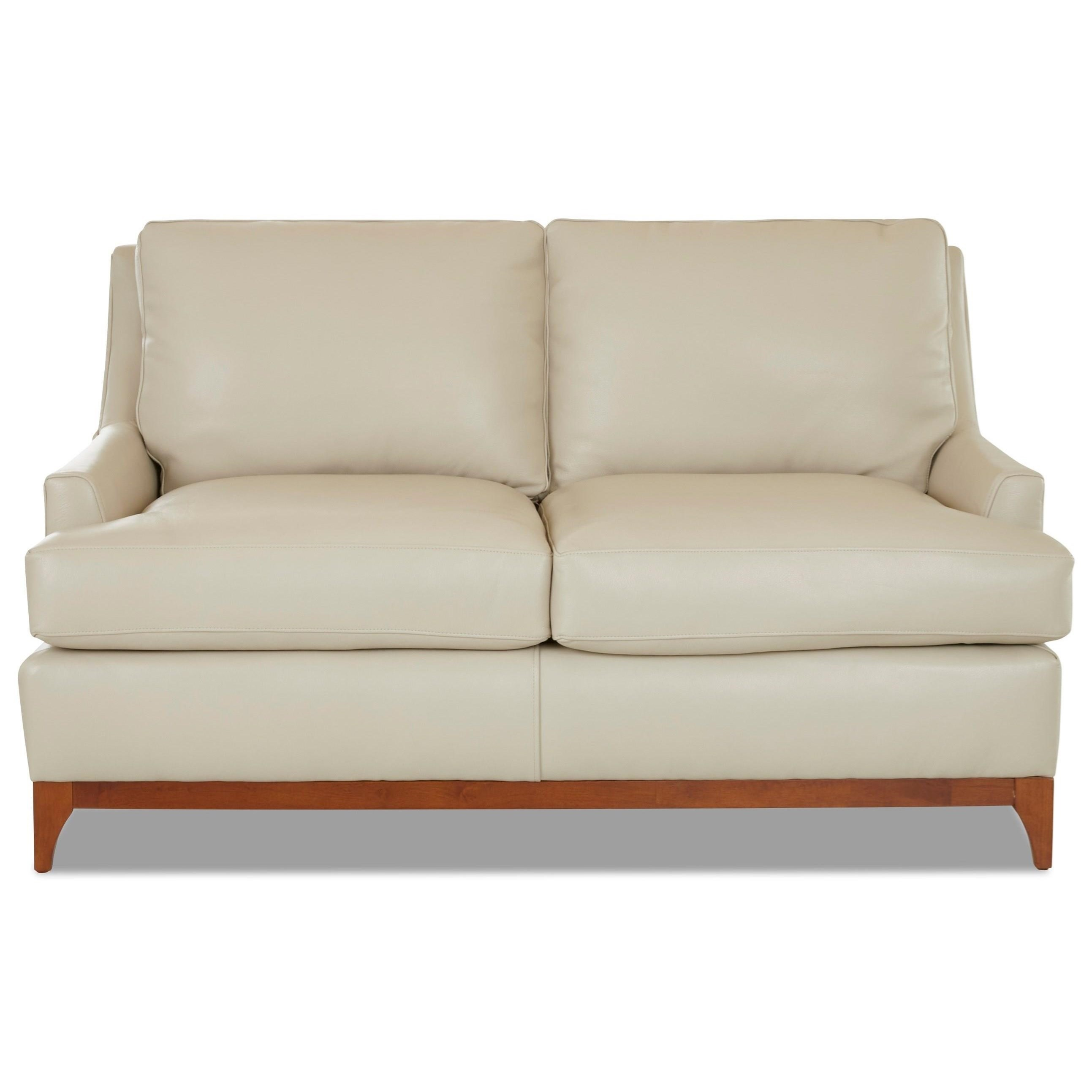 Luca Loveseat by Klaussner at Northeast Factory Direct