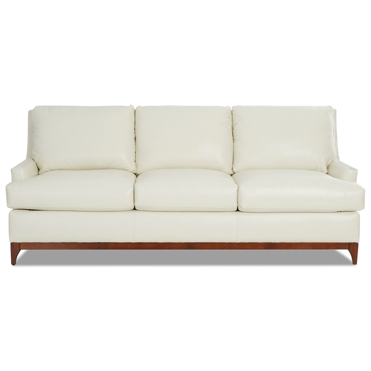 Luca Leather Sofa by Klaussner at Northeast Factory Direct
