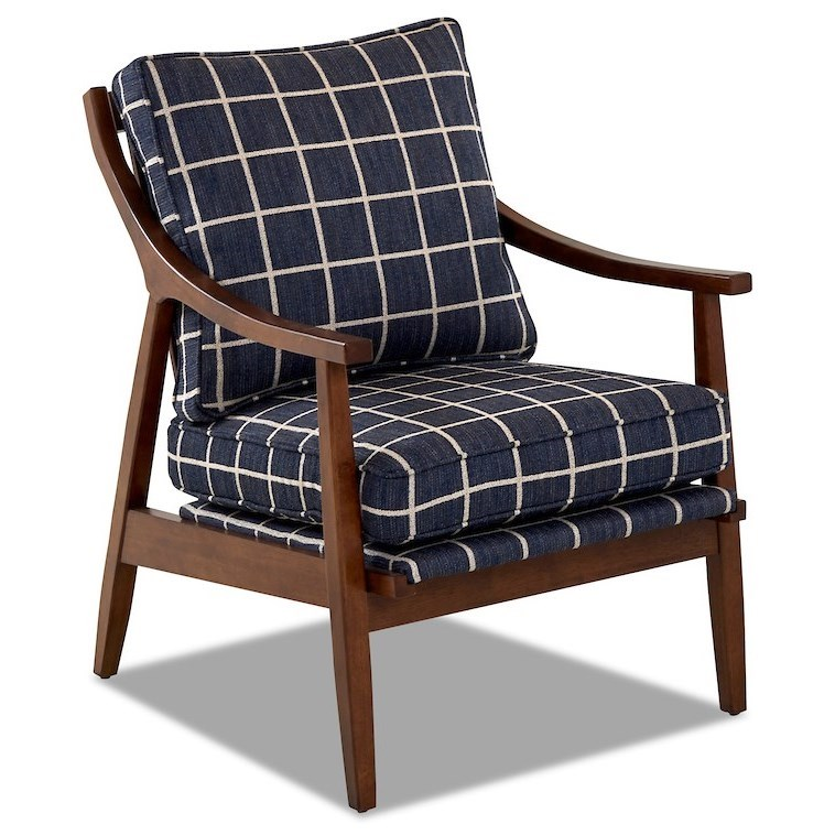 Lynn 934 Occasional Chair by Klaussner at Northeast Factory Direct