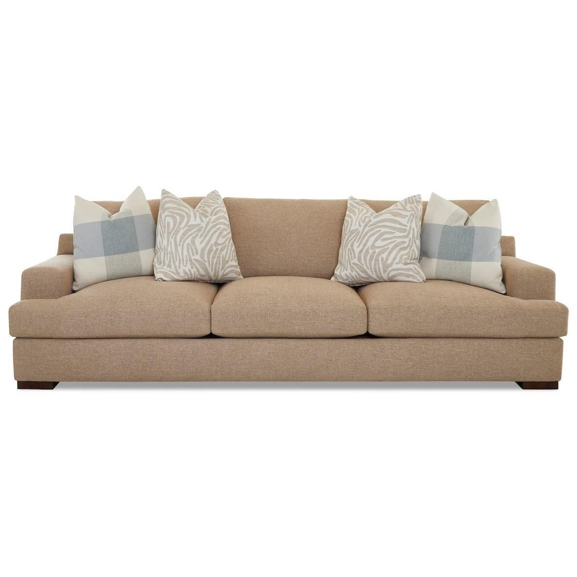 Lyon Extra Large Sofa by Klaussner at Northeast Factory Direct