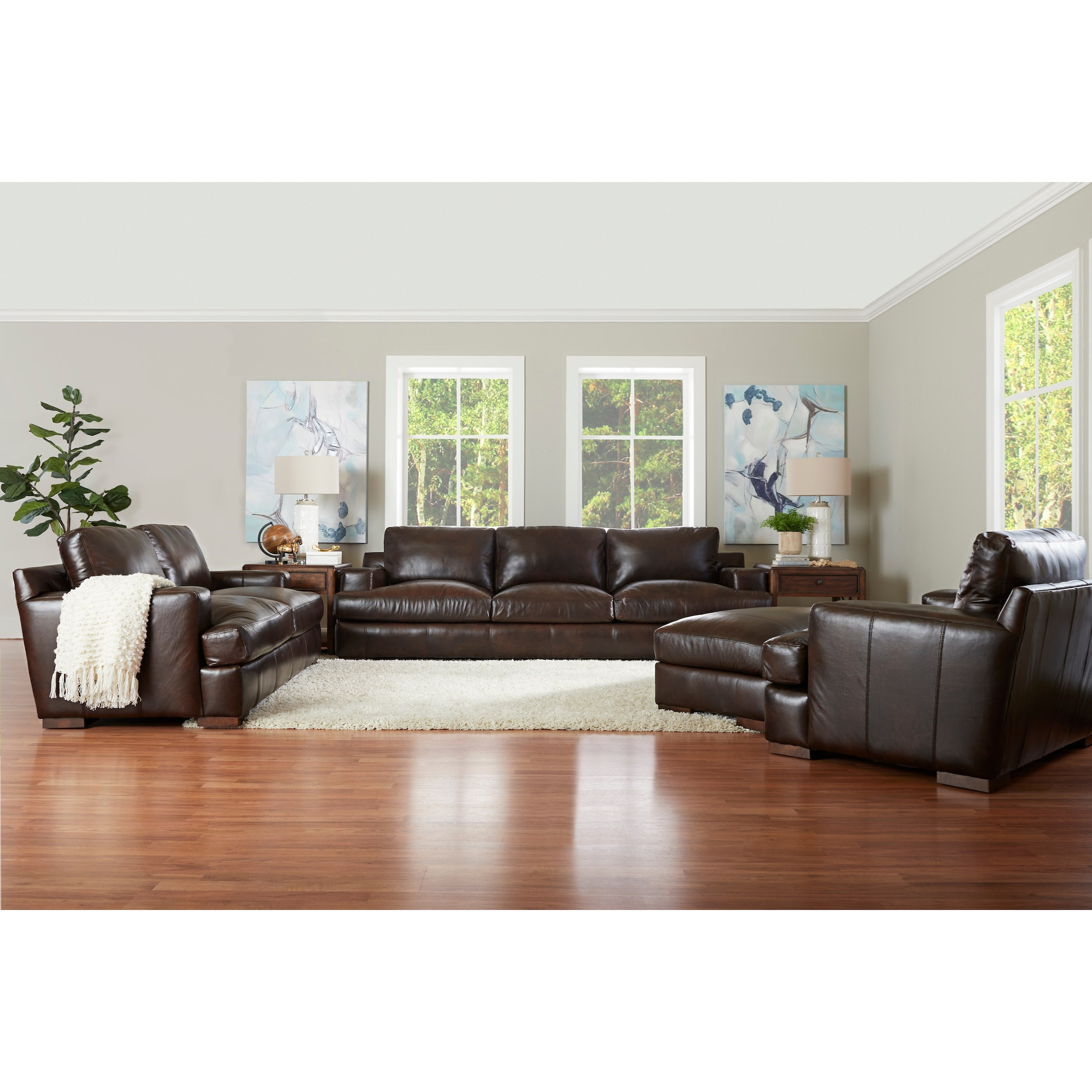 Lyon Living Room Group by Klaussner at Northeast Factory Direct