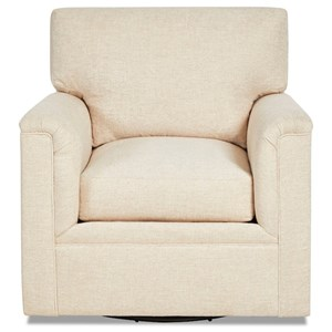 Swivel Chair with Down Seat