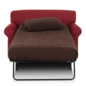 Sleeper Chair with Accent Pillows