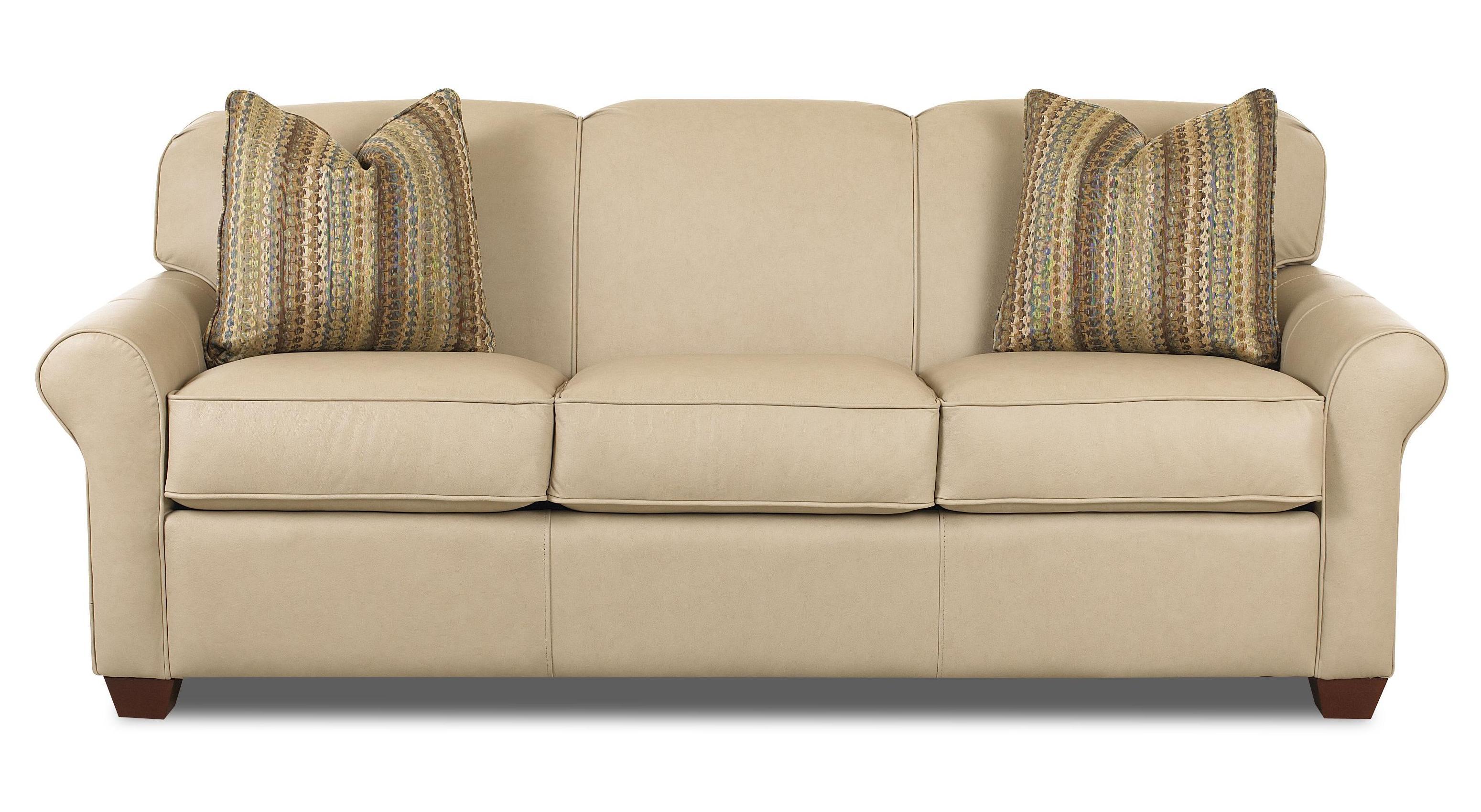 Klaussner Mayhew 97900 IQSL Innerspring Queen Sleeper Sofa ...