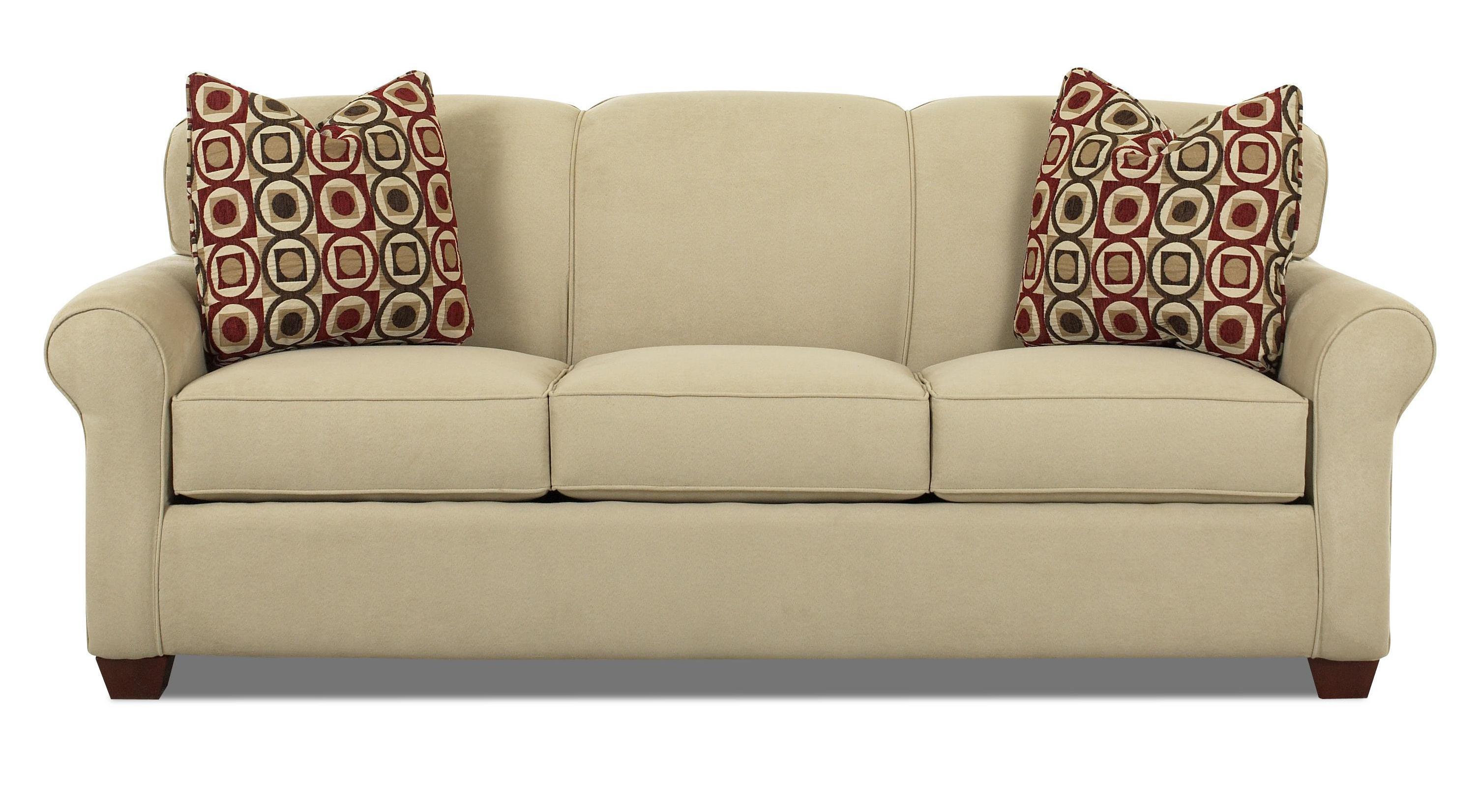 Mayhew Stationary Sofa by Klaussner at Johnny Janosik