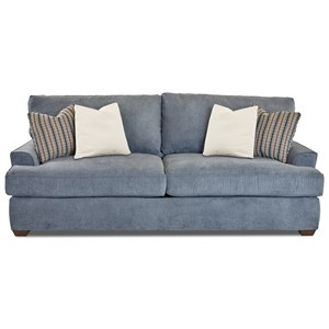Casual Two Seat Sofa with Extra Deep Seats