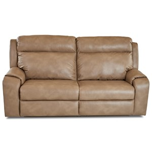Two Seat Power Reclining Sofa with Power Headrests / Lumbar and USB Charging Ports
