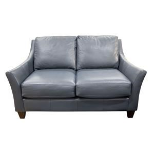 Miriam  Leather Match Loveseat